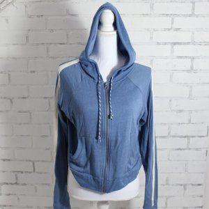 Medium Blue Zip Up Hoodie / Aeropostale